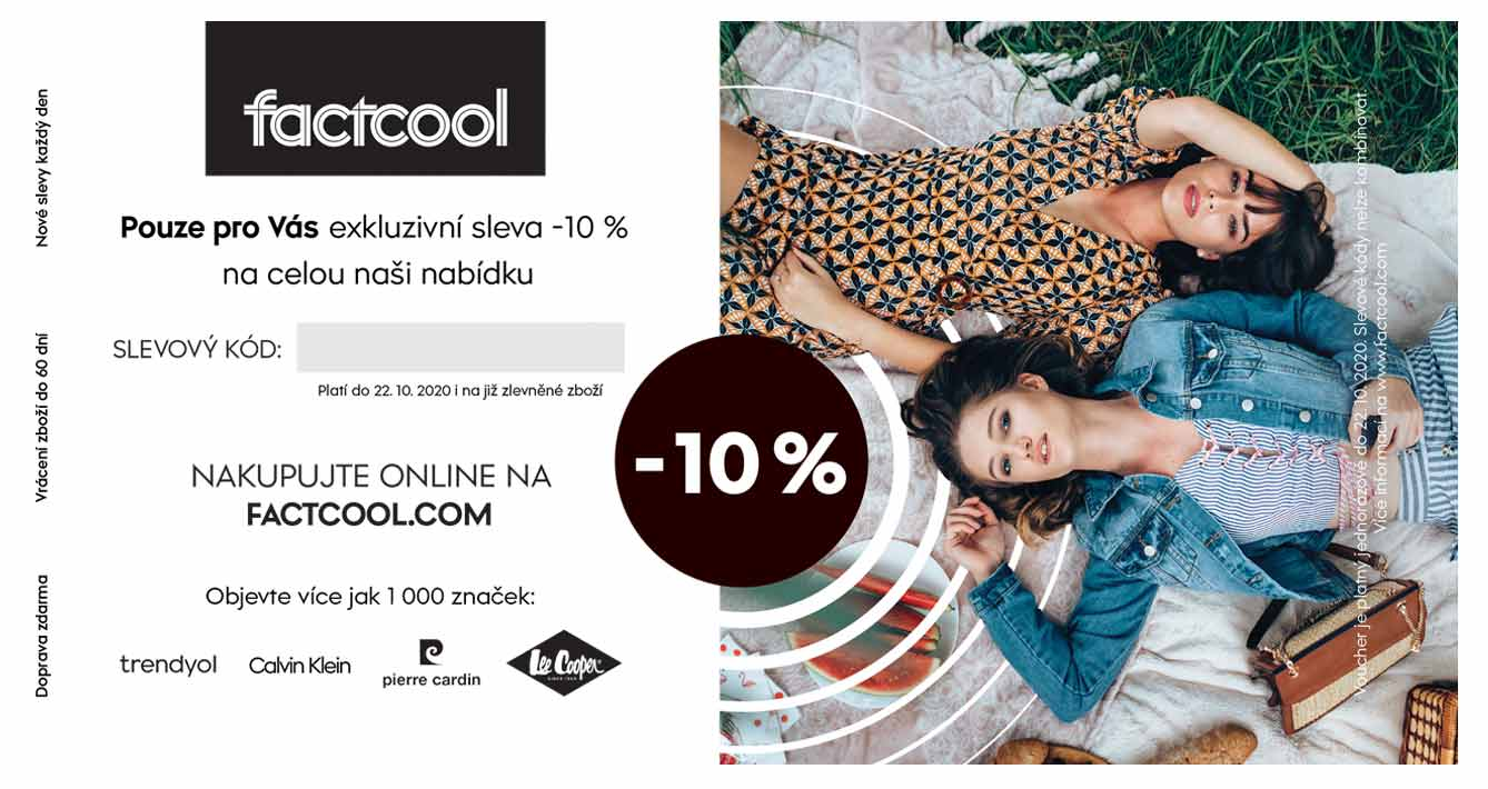Voucher code factcool.com